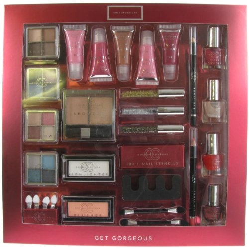 Colour Couture Get Gorgeous 29 Piece Cosmetic Make-up Gift Set