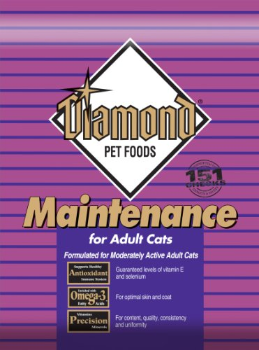 Detail image Diamond Dry Food for Adult Cats, Maintenance Chicken Formula, 6 Pound Bag