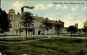 Indiana state prison michigan city original vintage postcard at amazon 39 s entertainment for Olive garden michigan city indiana