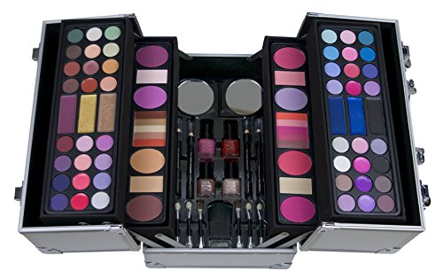 comparamus the color workshop mallette de maquillage professional colors coffret argent. Black Bedroom Furniture Sets. Home Design Ideas