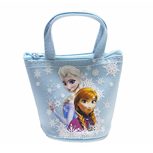Officially Licensed Disney Frozen Mini Handbag Style Coin Purse - Elsa and Anna - 1