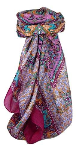 classic-gamme-paisley-echarpe-carre-100-soie-de-murier-motif-dyal-carnation-de-pashmina-silk