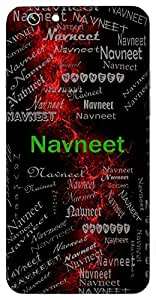 Navneet (Fresh Butter, Lord Krishna) Name & Sign Printed All over customize & Personalized!! Protective back cover for your Smart Phone : Samsung Galaxy S6 Edge