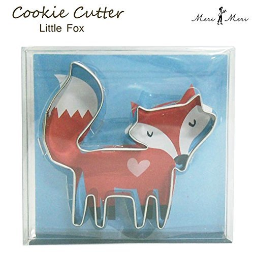 Meri Meri Fox Cookie Cutter, Metal 1