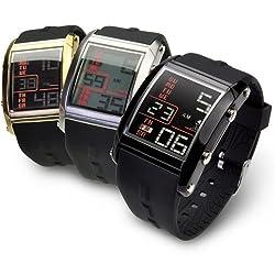 バウンサースポーツ腕時計セカンドモデル/ホワイト×ブラック/BOUNCER SPORTS メンズ