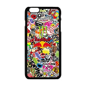 Amazon.com: WEIWEI Cool Sticker Bomb Graffiti Cell Phone Case for