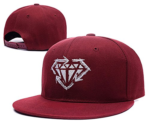 LIFA Stick To Your Guns Just Like Me Diamond Symbol Hat Embroidery Snapback Cap (Martian Manhunter Costume)