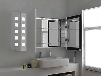 6 modern mirror design design placard salle bain miroir clair capteur prise rasoir. Black Bedroom Furniture Sets. Home Design Ideas