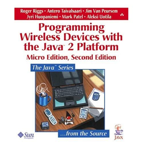Programming Wireless Devices with the Java2 Platform, Micro Edition
