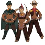 Costume 3 in 1 magic west tg.4-6anni