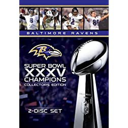 BALTIMORE RAVENS SUPER BOWL XXXV COLLECTOR'S EDITION