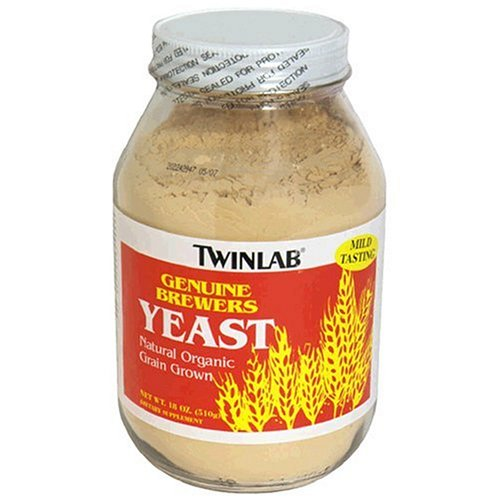 Twinlab Genuine Brewers Yeast, 18 Ounce (Pack of 3)