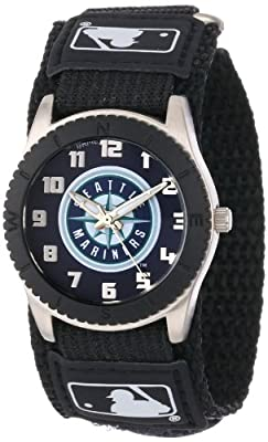 "Game Time Unisex MLB-ROB-SEA ""Rookie Black"" Watch - Seattle Mariners"