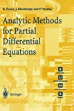 img - for Analytic Methods for Partial Differential Equations (Springer Undergraduate Mathematics Series) book / textbook / text book