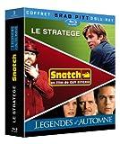echange, troc Coffret Brad Pitt - Le stratège + Snatch + Légendes d'automne [Blu-ray]