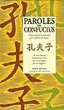 echange, troc Cyrille Javary - Paroles de Confucius