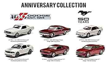 Amazon.com: Anniversary Collection 100 Years Dodge & 50 Years Mustang