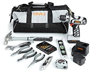 Denali 12V Lithium Ion 23-Piece Homeowners Tool Kit