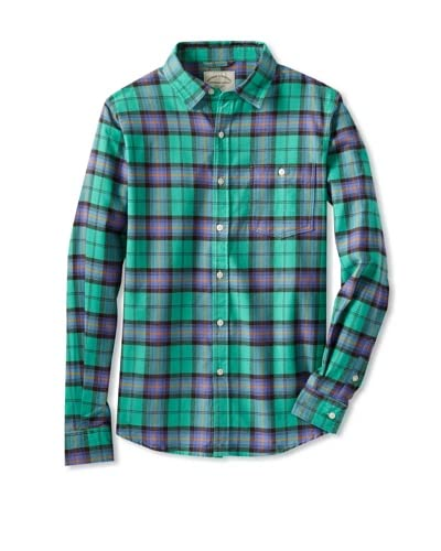Threads 4 Thought Men's Plaid Shirt