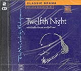 William Shakespeare Twelfth Night 2 CD Set: Unabridged (New Cambridge Shakespeare Audio)