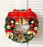 SOMAN クリスマスリース Merry Christmas 花輪 玄関 ドア お部屋 クリスマス飾り おしゃれ