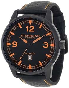 Stuhrling Original Men's 129XL.335557 Aviator Tuskegee Warhawk Automatic Date Black Watch