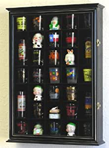 Amazon Com 31 Shot Glass Shooter Display Case Holder