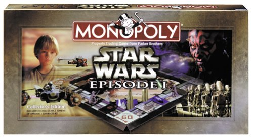 Monopoly - Star Wars Episode 1 Edition - Buy Monopoly - Star Wars Episode 1 Edition - Purchase Monopoly - Star Wars Episode 1 Edition (Parker Brothers, Toys & Games,Categories,Action Figures)