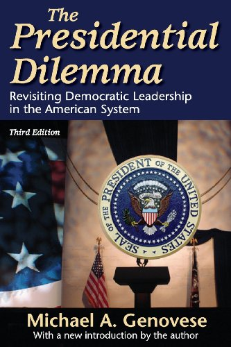 Image for publication on The Presidential Dilemma: Revisiting Democratic Leadership in the American System