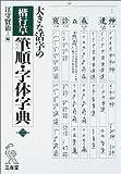 大きな活字の 楷行草 筆順・字体字典 第二版