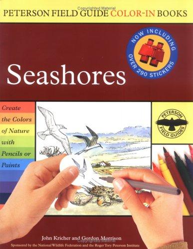 Seashores (Peterson Field Guide Color-In Books)