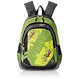 """Genius Nylon Children's Backpack (GN 1520 - 15""""-GREEN)"""