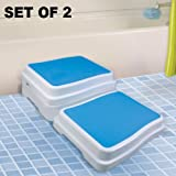 Tubside Kneeler and Step Stool Set of 2