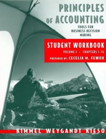 Principles of Accounting, with Annual Report, Student Workbook, Vol. I