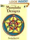 Dover Publications Book, Mandala Designs (Dover Design Coloring Books)
