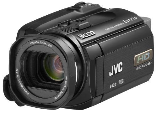Jvc Everio Gz-Hd6 3Ccd 120Gb Hard Disk Drive High Definition Camcorder With 10X Optical Image Stabilized Zoom