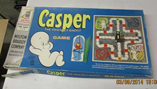 Casper the Friendly Ghost Vintage Game by Milton Bradley - 1