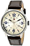 Tommy Hilfiger Men's 1791102 Casual Sport Analog Display Quartz Brown Watch