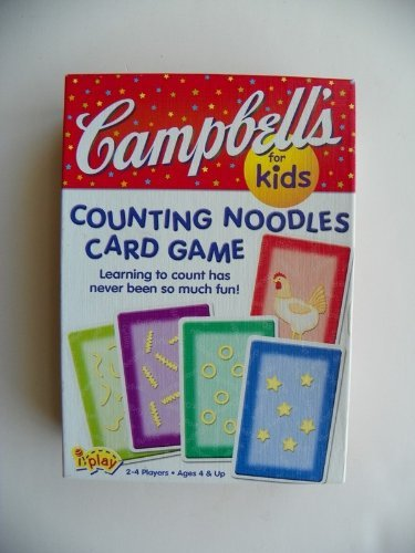 Campbell's for Kids Counting Noodles Card Game - 1