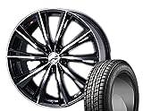 [235/55R20]GOODYEAR / ICE NAVI SUV スタッドレス [2/-][Weds / LEONIS WX (BKMC) 20インチ] スタッドレス&ホイール4本セット ムラーノ(Z51系)