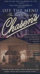 Off the Menu - The Last Days of Chasen's [VHS]