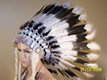 Big Sale Native American War Bonnet Feather Headdress, Reproduction