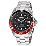 Invicta Men's 15585SYB Pro Diver Analog Display Japanese Automatic Silver Watch