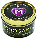 Monogamy Intimate Massage Candle   Chocolate and Vanilla 65 g