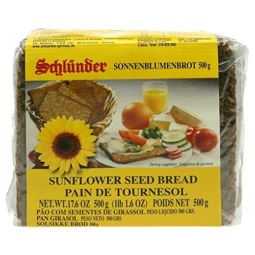 Schlunder German Sunflower Seed Bread 500g (2-pack) (Turkish Bread compare prices)