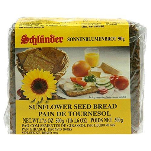 Schlunder German Sunflower Seed Bread 500g (2-pack) (German Dark Bread compare prices)