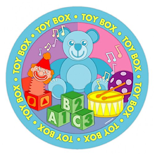 "8 Toy Box Teddy Bear Birthday Party 9"" Disposable Paper Plates"