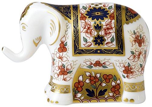 royal-crown-derby-infant-imari-elefante-pisapapeles-de-cristal-acero-inoxidable-multicolor