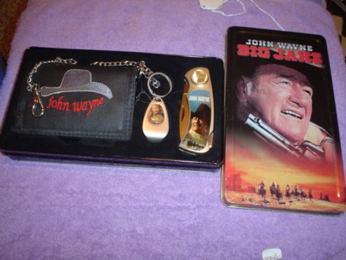John Wayne 3 Pc Big Jake Pocketknife Tin
