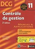 DCG Épreuve 11 : Contrôle de gestion - Manuel et Applications